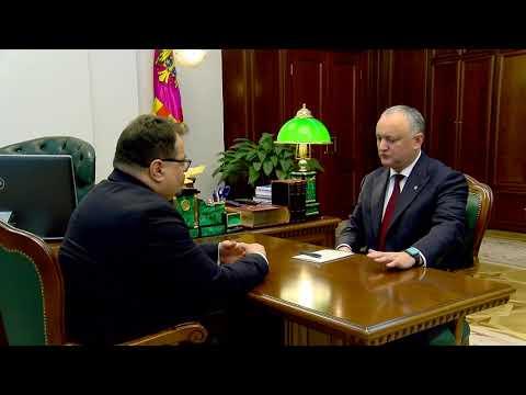 Președintele țării a avut o întrevedere cu șeful Delegației Uniunii Europene