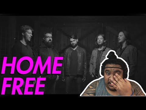 Home Free - I Can't Outrun You by Trace Adkins [MUSIC REACTION]