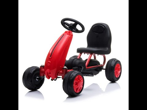 Baybee Kids Mini Doggie Pedal go Kart Racing Ride on Toy car for Baby Assembling Video