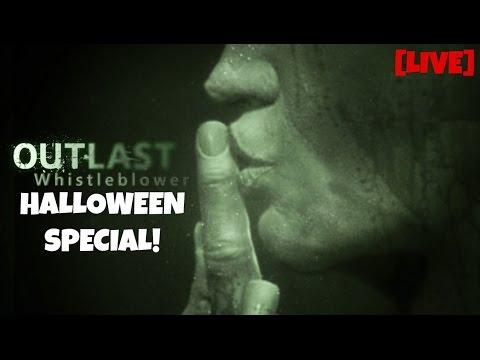 Halloween Livestream – Outlast: Whistleblower FULL PLAYTHROUGH