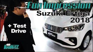 Video Suzuki Ertiga 2018 FUN IMPRESSION & TEST DRIVE - Best MPV IIMS 2018? | LUGNUTZ Indonesia MP3, 3GP, MP4, WEBM, AVI, FLV Mei 2018