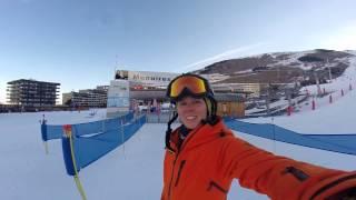 Hoeveel km kan je skiën op één dag?