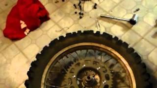 7. TTR 230: Rear Sprocket MOD