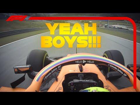 Lando Norris' Final Laps | 2020 Styrian Grand Prix
