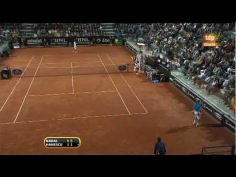 Hanescu vs. Nadal -Masters 1000 de Roma