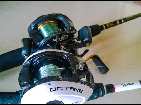 Baitcaster Test Run and Tips on How to Use - Fishing Off the Hook