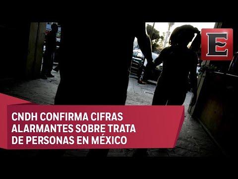 México de los primeros lugares en trata: CNDH