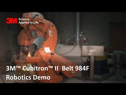 3M™ Cubitron™ II 984F Belt Robotics Demo