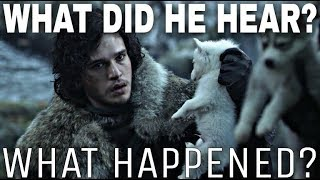 Video The Real Story Behind Jon Snow Discovering Ghost! - A Song of Ice and Fire (Theory Video) MP3, 3GP, MP4, WEBM, AVI, FLV Desember 2018