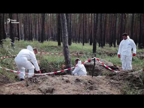 Поисковые группы находят новые тела погибших во время боев в Донецкой области