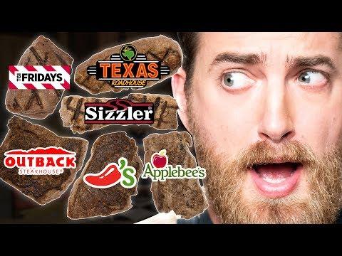 Chain Restaurant Steak Taste Test