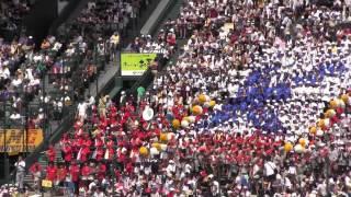 【甲子園応援歌】敦賀気比 応援チアリーダー2014夏の甲子園