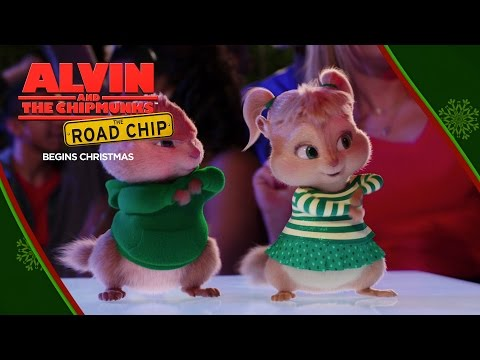Alvin and the Chipmunks: The Road Chip (Viral Video 'Wreck the Halls')