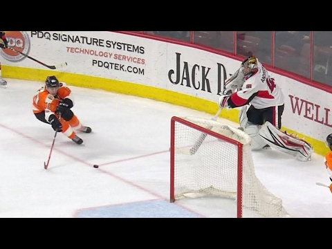 Video: Gotta See It: Anderson gives Flyers a goal with tape-to-tape pass