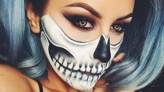 Halloween Skull Makeup - Chrisspy