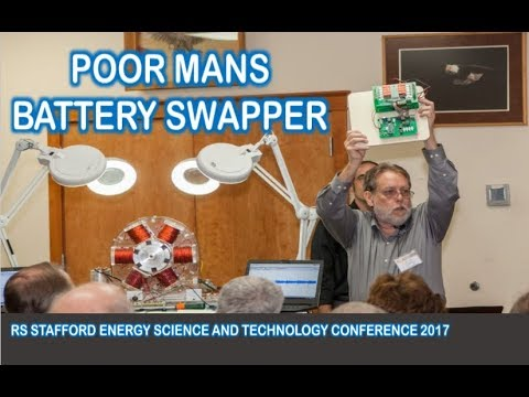 Poor Man's Battery Swapper by RS Stafford Energy Science and Technology Conference