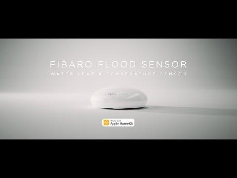FIBARO HomeKit flood sensor, senzor zlitja tekočin FGBHFS-101