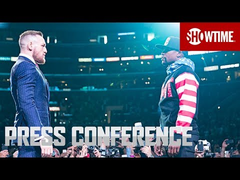 Mayweather vs. McGregor: Los Angeles Press Conference | Sat., Aug. 26 on SHOWTIME PPV (видео)