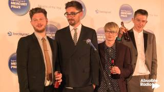 Alt-J win the Mercury Prize 2012 - full press conference