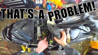 9. YAMAHA APEX COOLANT LEAK FIX