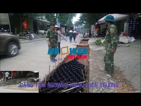 Dự án neoweb gia cố lề QL3C - Thái Nguyên