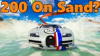 Forza Horizon 3 | The Herbievore! LIFTED OFF-ROAD VEYRON SS!! Will it do 200 MPH on Sand?