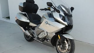 1. 2013 BMW  K 1600 GTL in Mineral Silver Metallic: Quick Look & Listen