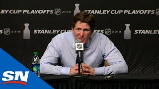 Mike Babcock Talks Ice Time Decisions And Future Improvements After Series Loss by Sportsnet Canada