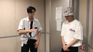 NCT night night(instagram) - Johnny and Jaehyun  freestyle rap
