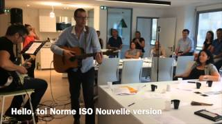 Hello, toi Norme ISO nouvelle version