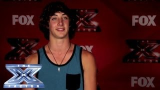 Yes, I Made It! Frank Poulin - THE X FACTOR USA 2013