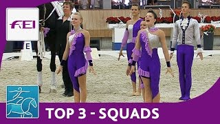 Top3 Squads - Vaulting - Ermelo - FEI World Vaulting Championships for Juniors