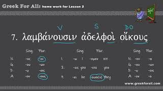 Translating Biblical Greek