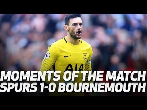 Video: MOMENTS OF THE MATCH | Spurs 1-0 AFC Bournemouth