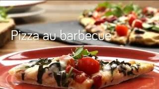 Pizza au barbecue