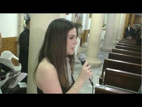 Carla Coral - Santo Inácio de Loyola - Benção das alianças - Ave Maria de Schubert.mpg