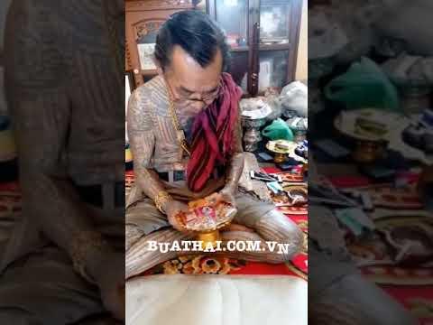 Thầy pháp sư làm bùa ngải Thái Lan