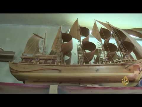 العرب اليوم - لبناني يعيد تصميم سفن ومراكب مستوحاه من كتب التاريخ