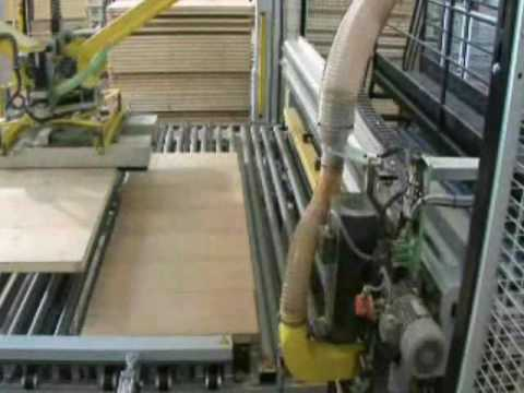 Schmalz Robotic Vacuum Gripper - Automated Material Handling in Woodworking Industry - Door Handling