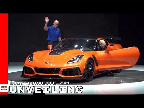 2019 Corvette ZR1 Unveiling