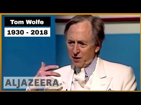 🇺🇸 American writer Tom Wolfe dies aged 88 | Al Jazeera English