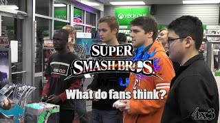 What do the fans think of Smash 4 on Wii U? (GameStop Preview Event)