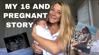Pregnant at 16    single teen mom story time