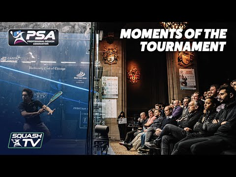 Squash: Windy City Open 2020 - Moments of The Tournament