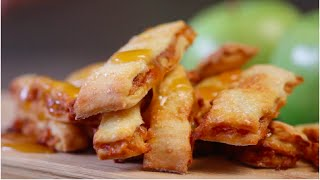 How to Make Apple Pie Fries With Salted Caramel Dipping Suace by POPSUGAR Food