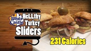 White Castle Style Turkey Sliders