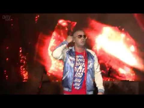 Wisin video Rakata - Estadio Geba 2015