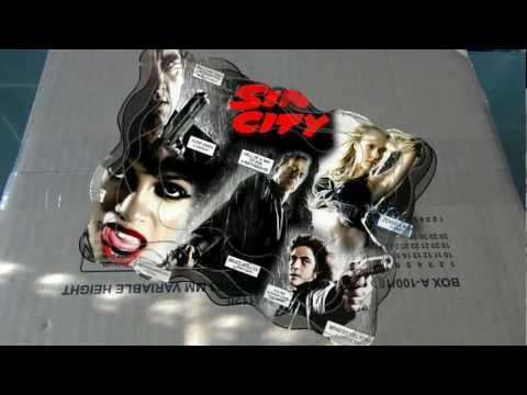 Unboxing [Sin City - Recut (Steelbook) + Kill Bill VOL.1&2 (Steelbook)] BluRay German/HD(1080p)