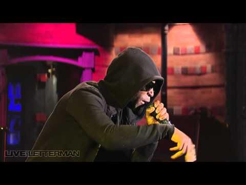 Tinie Tempah - DJ vs Band (Live on Letterman)