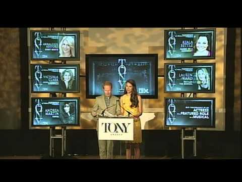 nominations - Watch this year's Tony Award Nominations announced by Jesse Tyler Ferguson and Sutton Foster http://tonyawards.com Tune into this year's 67th Annual Tony Awa...